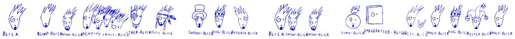 A Blick for All Seasons 字体