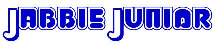 Jabbie Junior 字体