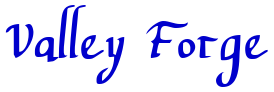 Valley Forge 字体